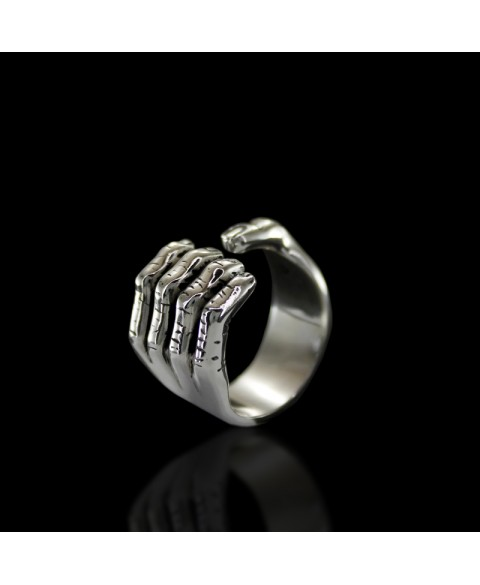 Hand ring sterling silver